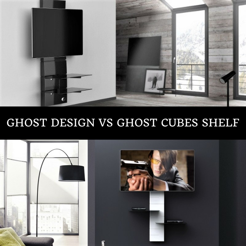 Ghost Design vs Ghost Cubes Shelf